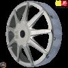 Ban Jing Clutch Bell 9-Spokes Racing Chrome (GY6, PCX)