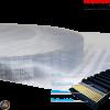 Bando CVT Belt 743-20-30 (GY6 shortcase)