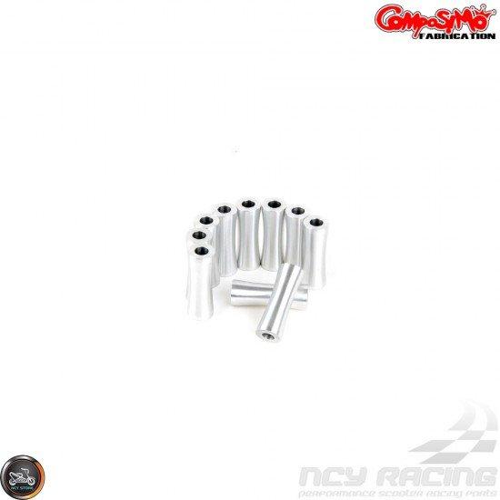 ComposiMo CVT Cover Anklebiter Silver (GY6 longcase)