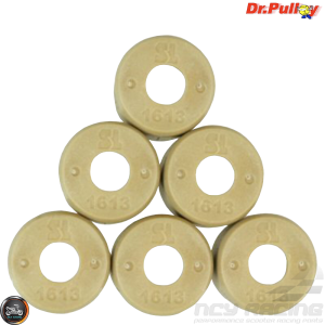 Dr. Pulley Variator Roller Weight Set 16x13 (DIO, GET, QMB)