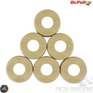 Dr. Pulley Variator Roller Weight Set 20x15 (GY6B, PCX)