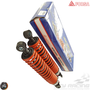 Forsa Shock 335mm Adjustable Nitrogen Set (QMB, GY6, Universal)