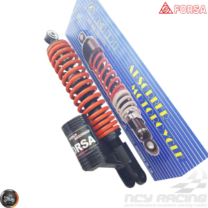 Forsa Shock 325mm Adjustable Nitrogen HP Performance (QMB, GY6, Universal)