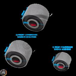 G- Crankcase Bushing 1-Front (139QMB, GY6)
