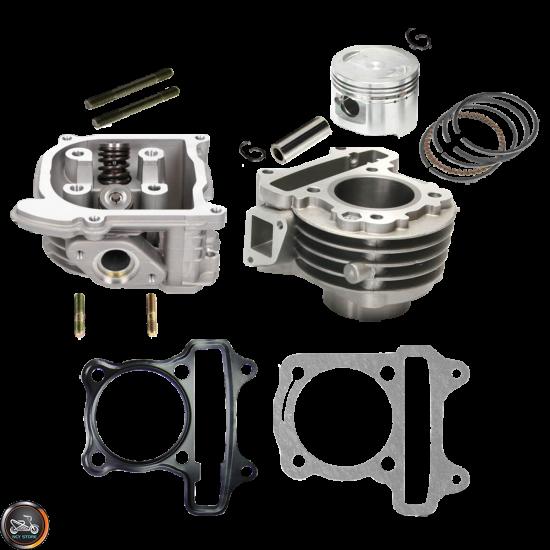 G- Cylinder 47mm 72cc 2V Cast Big Bore Kit Duo Combo (139QMB)