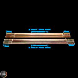 G- Cylinder Stud 168mm 176mm 2V Set (139QMB)