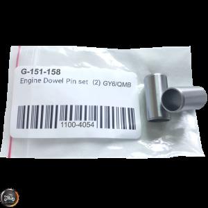 G- Dowel Pin 10x20mm Set (QMB, GY6, Universal)