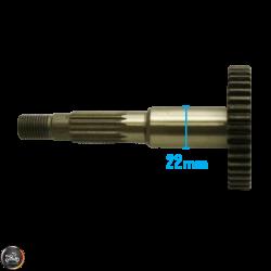 G- Final Drive Shaft 126mm (40QMB, Minarelli JOG)