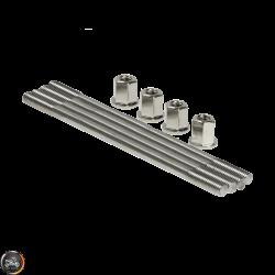 G- Cylinder Studs 150mm w/Nut 2V Set (Honda Dio)