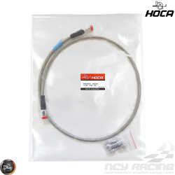 Hoca Brake Line Front 110cm Stainless Braided Dragon (QMB, GY6, Universal)