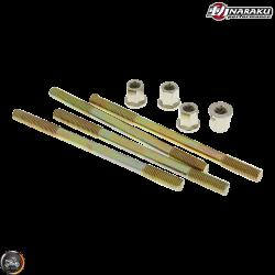 Naraku Cylinder Stud 110mm w/Nut 2V Set (40QMB, Minarelli JOG)
