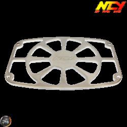 NCY Radiator Cover Chrome (Metro, Ruckus GET)