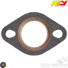 NCY Exhaust Gasket 27mm Copper & Fiber (QMB, GY6, Universal)