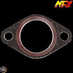 NCY Exhaust Gasket 29.8mm Steel & Fiber (GY6, Universal)