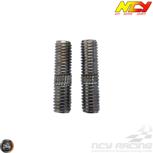 NCY Exhaust Stud M6x30mm Set (QMB, GY6)