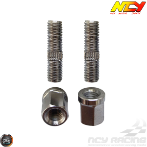 NCY Exhaust Stud M8x30mm w/Nut Set (GY6)