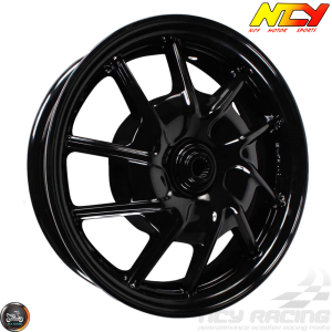 NCY Rim Rear 12in Black 10-Spokes (BWS, Zuma 125)