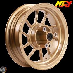 "NCY Rim Front 10"" Gold 10-Spokes (Honda Ruckus)"