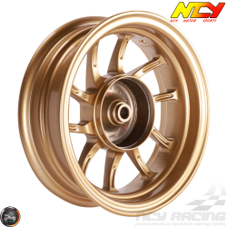 "NCY Rim Rear 10"" Gold 10-Spokes (Honda Ruckus)"