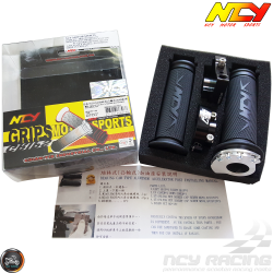 NCY Throttle Grip 7/8in Bearing Style Set (GY6, Ruckus, Universal)