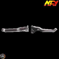 NCY Brake Lever Silver Set Drum Type (Ruckus, Zoomer)