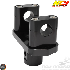NCY Handlebar Tapered Stand 1-1/8in Black (Honda Ruckus)