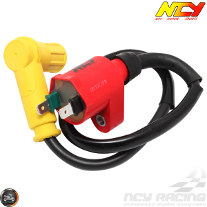NCY Ignition Coil High-Tension +Cap (GET, QMB, GY6)