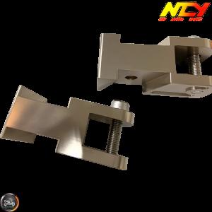 NCY Shock Relocating Bracket Bronze Set (QMB, GY6, Universal)