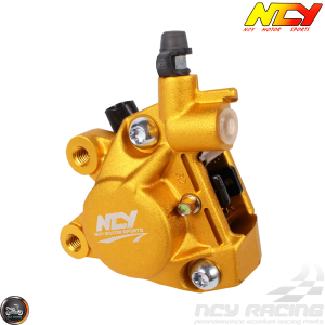 NCY Brake Caliper 2-Piston Forged Gold (Buddy, JOG, Zuma 50)
