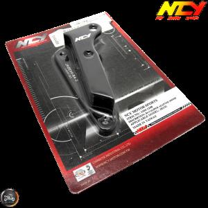 NCY Brake Caliper Adapter 200mm B4 Black (DIO, Ruckus)