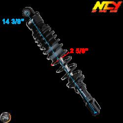 NCY Shock 365mm Adjustable Performance Black Set (Yamaha Zuma 125)