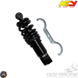 NCY Shock 219mm Adjustable Low-Down Black (GY6, Ruckus, Universal)