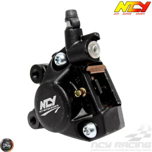 NCY Brake Caliper 2-Piston Forged Black (Buddy, JOG, Zuma 50)