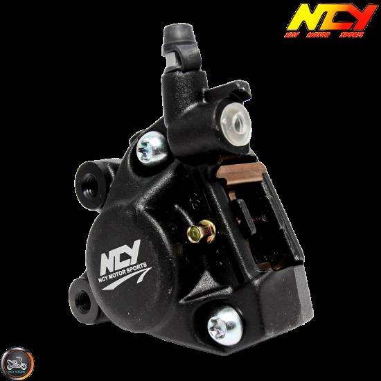 NCY Brake Caliper 2-Piston Forged Black (Buddy, JOG, Zuma 50)