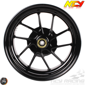 NCY Rim Front 10in Black 10-Spokes (Honda Ruckus)