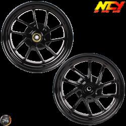 "NCY Rim Set 10"" Black 10-Spokes (Honda Ruckus)"