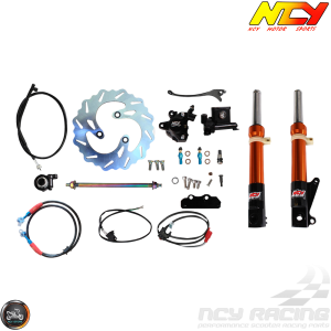 NCY Front End Orange Kit (Ruckus, Zoomer)