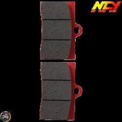 NCY Brake Pad 4-Piston Set (Honda Ruckus)