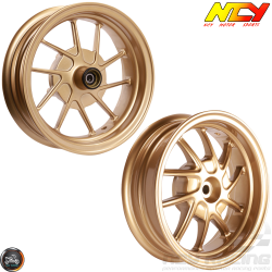 "NCY Rim Set 10"" Gold 10-Spokes (Honda Ruckus)"