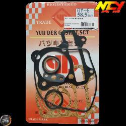 NCY Cylinder Gasket 58.5mm Set (GY6)