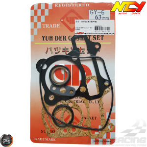 NCY Cylinder Gasket 63mm Set (GY6)