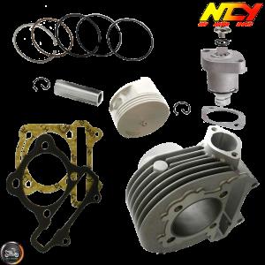 NCY Cylinder 58.5mm 161cc Big Bore Kit w/Cast Piston Fit 54mm (Buddy 125)
