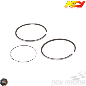 NCY Piston Rings 50mm Set (Honda Dio)