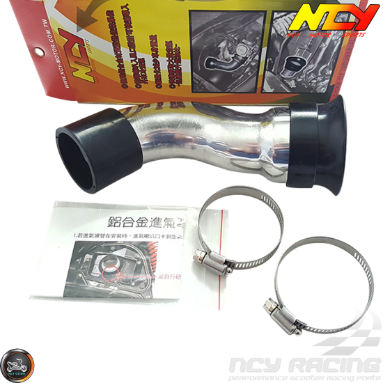 NCY Cold Air Intake Tube (QMB, GY6, Universal)