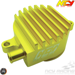 NCY Crankcase Breather High-Flow Billet Gold (Yamaha Zuma 125)