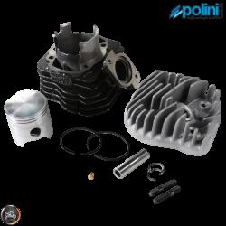 Polini Cylinder 47mm 72cc Contessa Big Bore Kit w/Alumin Piston (Honda Dio)