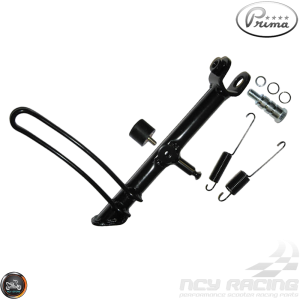 Prima Kickstand Assembly Black (Vespa GT)