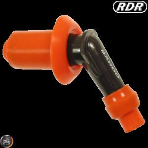 RDR Spark Plug Cap 120° Elbow (QMB, GY6, Universal)
