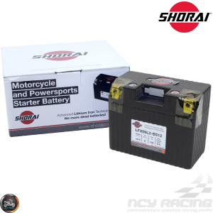 Shorai Lithium Battery 12V 9Ah (LFX09L2-BS12)