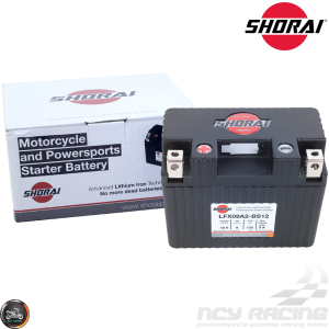 Shorai Lithium Battery 12V 9Ah (LFX09A2-BS12)